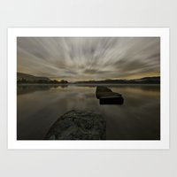 Loch Ard, Stirlingshire Art Print