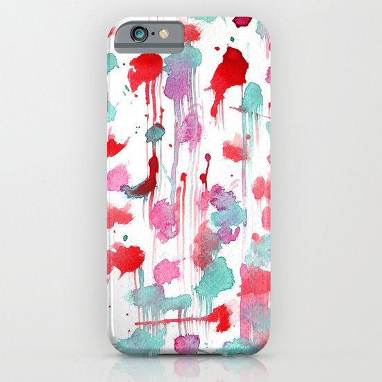 Water spots iPhone & iPod Case