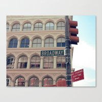 - Broadway Canvas Print