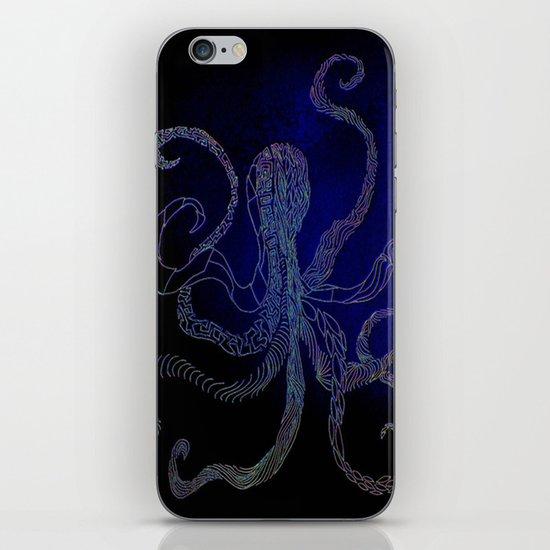 split octo personalities iPhone & iPod Skin