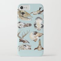 skulls iPhone & iPod Cases featuring Skulls by Katelyn Patton