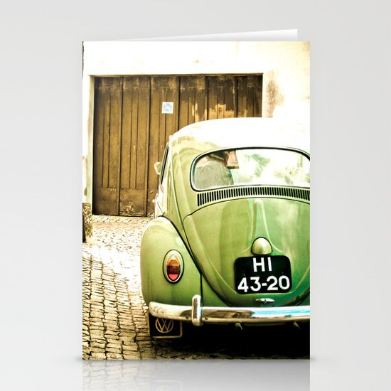 Mrs Olive Green Stationery Card
