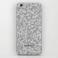 Comp Camouflage / Grey iPhone & iPod Skin