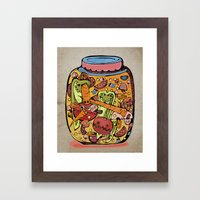 Pickles Framed Art Print
