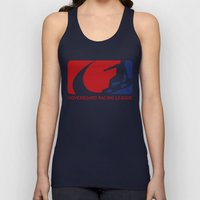 Hoverboard Racing League Unisex Tank Top