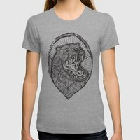 grizzly Womens Fitted Tee Athletic Grey SMALL