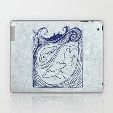 Whales & Waves Laptop & iPad Skin
