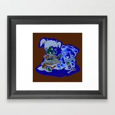 Chain of Fools Framed Art Print