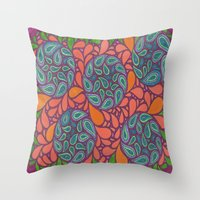 Exotic Plant Life Throw Pillow