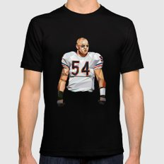 Geometric Urlacher SMALL Black Mens Fitted Tee
