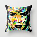 Acid Kendall Throw Pillow