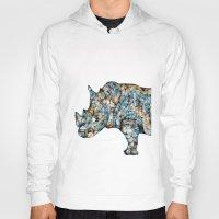Rhino-no text Hoody