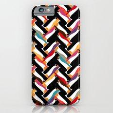 herringbone penguin Slim Case iPhone 6s