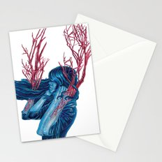 Her Arms Became Trees Stationery Cards