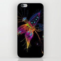 Butterfly spirit iPhone & iPod Skin