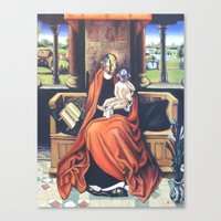 Harder, Better, Sacred Canvas Print