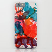 iPhone & iPod Case featuring It's A Wild Thing by dan elijah g. fajardo