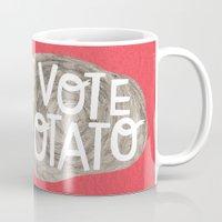 I VOTE POTATO Mug