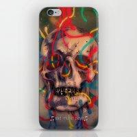 '' sad music plays '' iPhone & iPod Skin