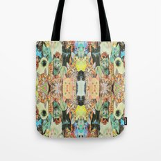 Cat Pattern Tote Bag