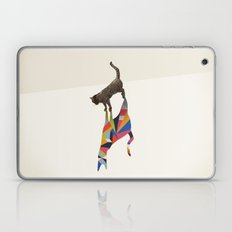 Walking Shadow, Cat Laptop & iPad Skin