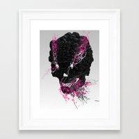 zombi Framed Art Print
