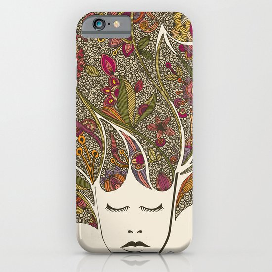 Dreaming with flowers iPhone & iPod Case