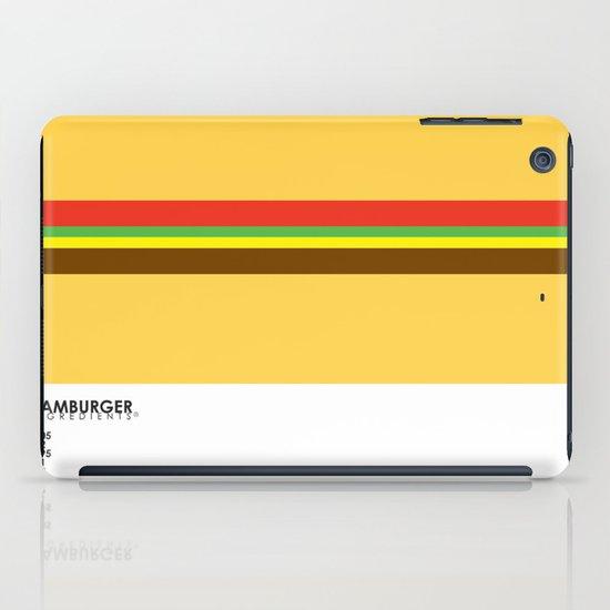 Pantone Food - Hamburger iPad Case