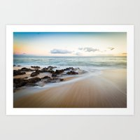 Follow Me...into The Sea Art Print