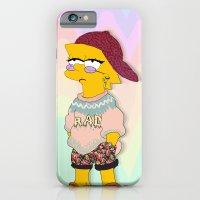 Chic Lisa Simpson iPhone 6 Slim Case
