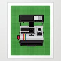 Polaroid Supercolor 635C… Art Print