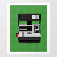 Polaroid Supercolor 635CL Art Print