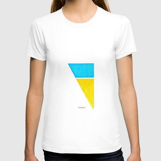 - minimal beach - T-shirt