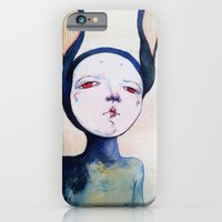 iPhone & iPod Case featuring Portrait by Zina Nedelcheva