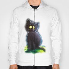 Once upon a black cat Hoody