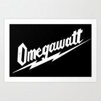 Omegawatt Art Print