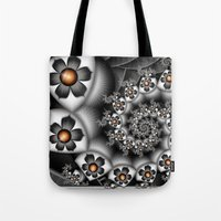 Orange Fan. Tote Bag