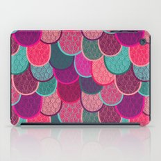 Fish Scales and Mermaid Tales iPad Case