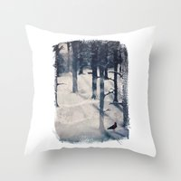 The Raven Who Stole My H… Throw Pillow