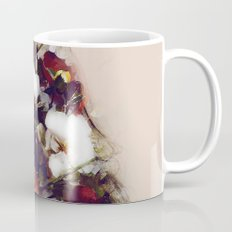 The girl with the flowers in her hair Mug