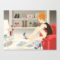 Shoes Canvas Print