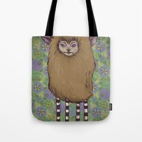 Fawn Girl Tote Bag