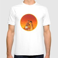 End Of Summer Mens Fitted Tee White SMALL