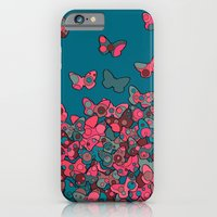 iPhone & iPod Case featuring Flutterflies by Ellie And Ada