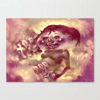 Tee Hee Canvas Print