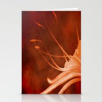 Simply Red Stationery Cards
