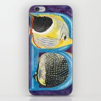 B for Butterfly Fish iPhone & iPod Skin