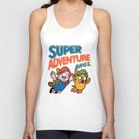 Super Adventure Bros Unisex Tank Top