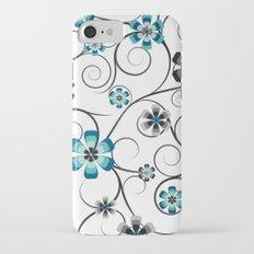 Winter Flowers iPhone 7 Slim Case