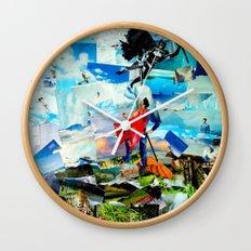 BAT VS. GOD Wall Clock